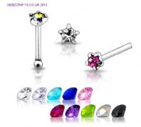 Sterling Silver Nose Stud Mega Mix.5 for £3.75